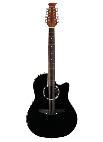 AB2412II-5 - Applause® Standard 12-String - Black