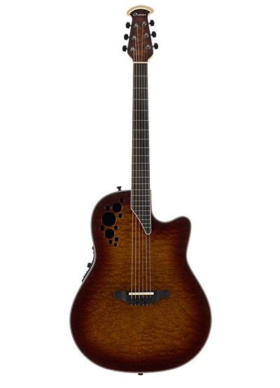 C2078AXP2-STB - ExoticWood Elite - Exotic Sapele Tobacco Burst