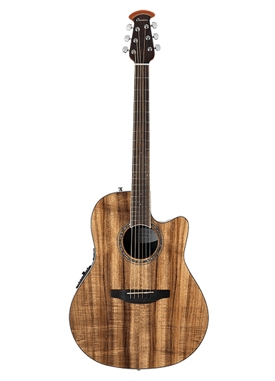 CS24P-FKOA - Celebrity Standard Exotic - Natural On Exotic Flamed Koa