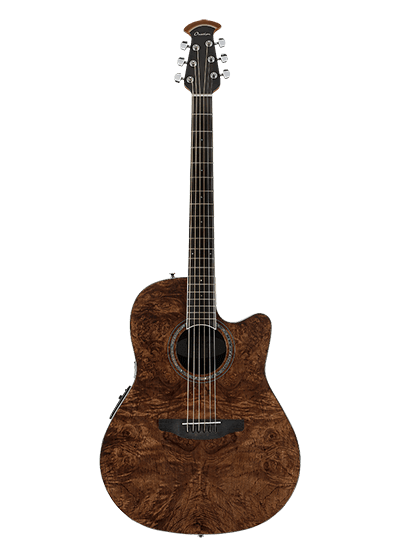 CS24P-NBM - Celebrity Standard Exotic - Dark Nutmeg on Exotic Burled Maple
