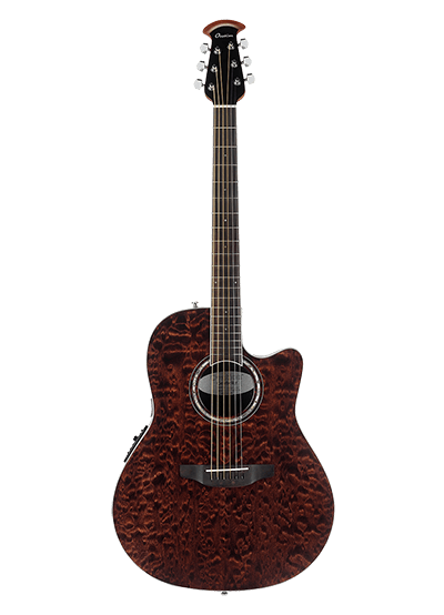 CS28P-TGE - Celebrity Standard® Exotic - Dark Tiger Eye On Exotic Quilted Maple