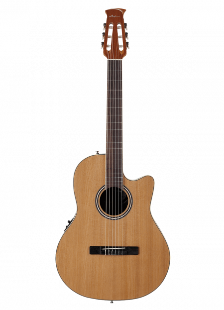 AB24CII-CED - Applause Standard Nylon - Natural - Front
