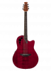 AE44II-RR - Applause Elite - Ruby Red - Front