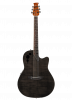AE44IIP-TBKF - Applause Elite Exotic - Trans Black Flame - Front
