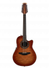 C2059AXP2-QHB - ExoticWood Legend® 12-String - Honey Burst On Exotic Quilted Maple - Front