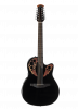 CE4412-5 - Celebrity Elite 12-String - Black - Front