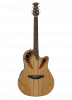 CE44P-SM - Celebrity Elite Exotic - Natural On Exotic Spalted Maple - Front