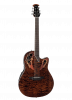 CE48P-TGE - Celebrity Elite Exotic - Dark Tiger Eye On Exotic Quilted Maple - Front