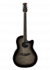 CS24P-TBBY - Celebrity Standard Exotic - Transparent Black Burst On Flamed Maple - Front